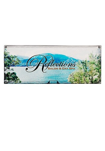 10W x 4H ft. Mesh Vinyl Single-Sided Banners | SHD304418