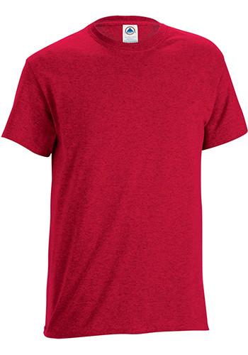 Custom printed delta apparel unisex adult performance tees for Custom printed performance shirts