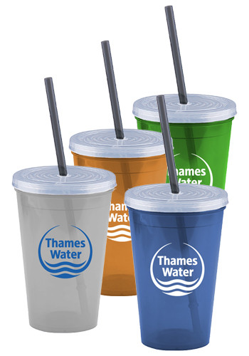16 oz. Pioneer Insulated Tumblers with Straw | GRTCP16