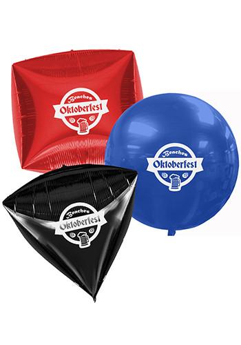 3D Unique Shape Foil Balloons | GBMYRN