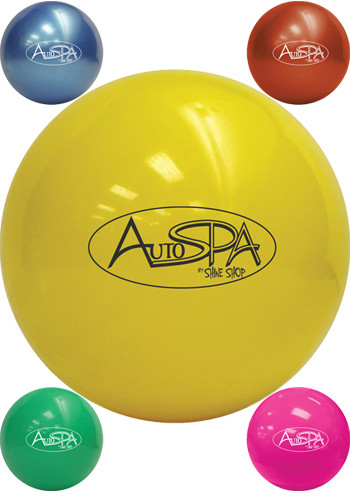 Promotional 4 in. Soft Vinyl Play Balls