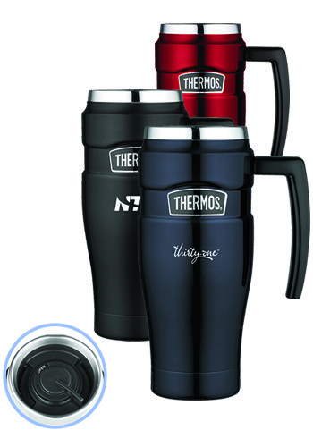 thermos travel mug personalized 16 oz thermos stainless king travel mugs 13168