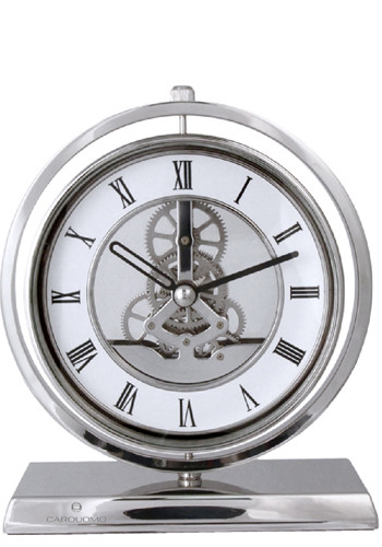 Silver Electro-Mechanical Gear Clocks | NOI105288