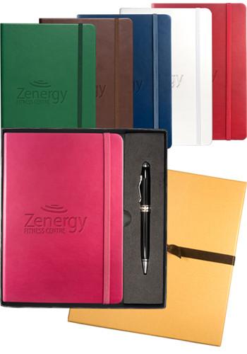 Tuscany Leather Journals & Executive Stylus Pen Set   PLLG9263