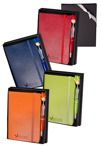 Venezia Carnivale Leather Journals & Stylus Pen Sets | PLLG9338