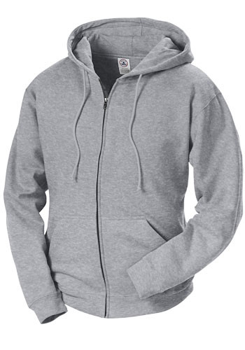 Adult Unisex Heavyweight Fleece Zip Hoodie Sweatshirts | 99300