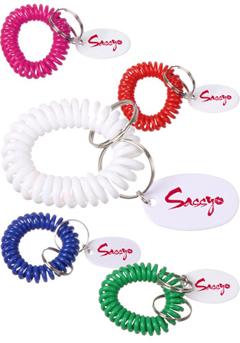 Bracelet Coil Keychains | EDBC1220