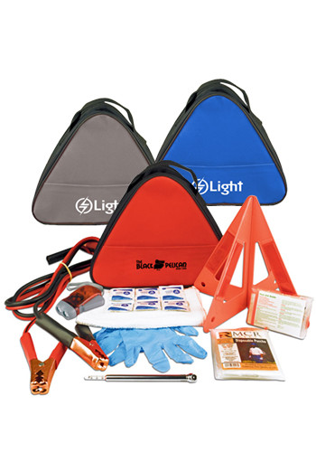 Custom Deluxe Triangle Auto Safety Kits