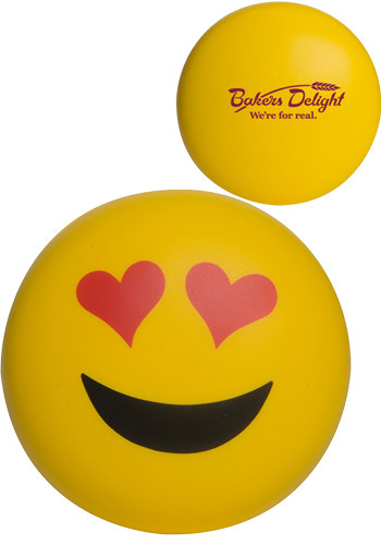 Heart Eyes Emoji Stress Balls | AL26633