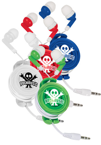 Light Up Plastic Earbud Cases | SM9861
