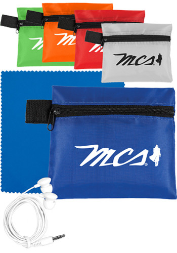 Earbud Kits in Zipper Pouch | IVTK110