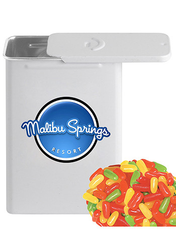 Slider Tin Filled with Mike & Ike's Candies | CI308MNI