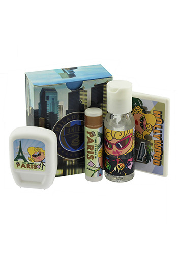 4- Piece Travel Kits | ADMKITTR
