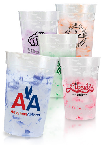 17 oz. Confetti Mood Stadium Cups | AK71317