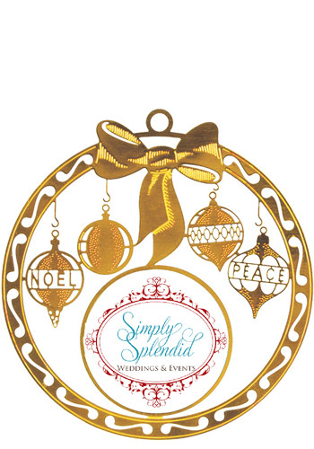 Bow Bright Brass Holiday Ornaments | SISLXM18