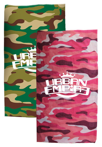 Customized Camo Seamless Bandanas