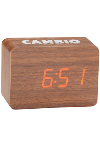 Custom LED Display Wooden Clocks