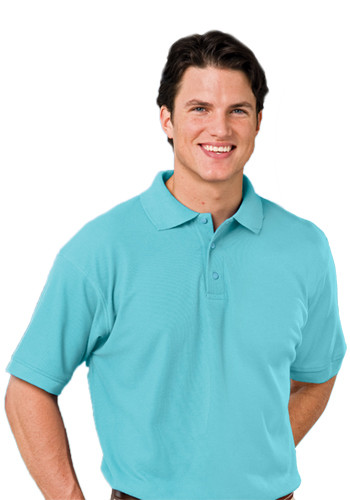 Blue Generation Mens Value Soft Touch Polo Shirts | BGEN7500