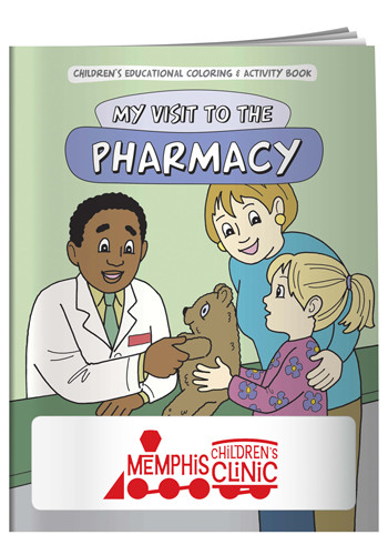 Wholesale Coloring Books: My Visit to the Pharmacy