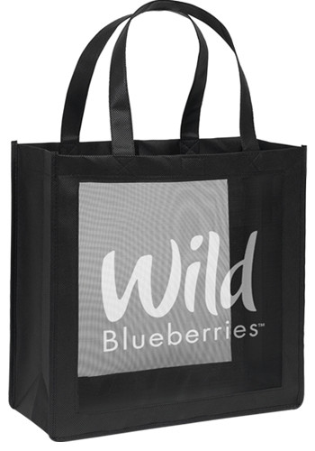 Custom Non-Woven Crowne Tote Bags