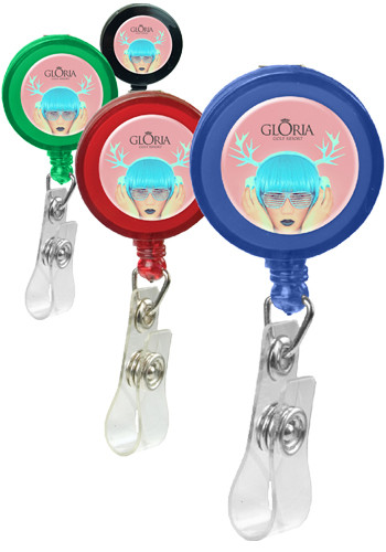 Retractable Badge Holders with Alligator Clip | CPSBH104