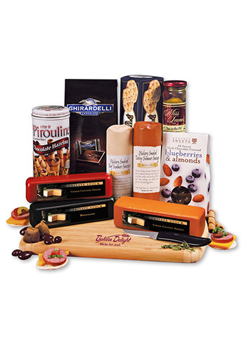 Shelf-Stable Extravagant Affair Cheese Packages | MRL675