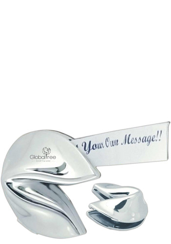 Silver Hinged Fortune Cookies | NOI602700