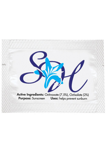 SPF-15 Sunscreen Lotion Packets | X11154