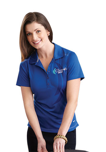 Women's Dunlay Short Sleeve Polo Shirts | LETM96217