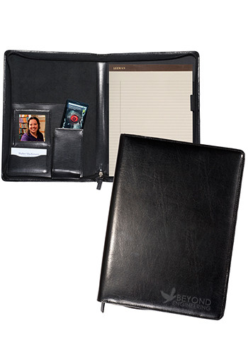 Zippered Magnetic Leather Photo Portfolios | PLLG9204