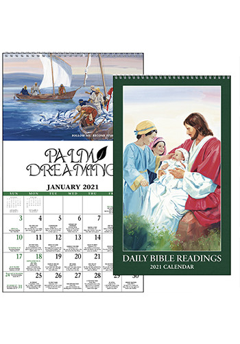 Promotional Daily Bible Readings Protestant Triumph Calendars