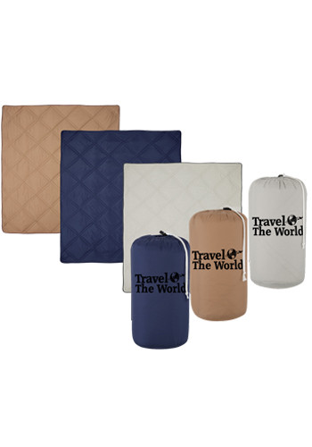 Promotional Deluxe Roll-Up Blankets