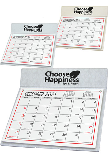 Custom Desk Calendars with Mailing Envelope