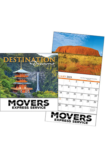 Promotional Destination Dreams Miniature Calendars