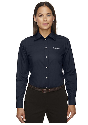 Devon & Jones Discount Ladies' Crown Collection Solid Broadcloth Shirts | D620W