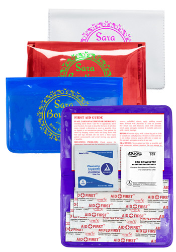 Personalized 7 Piece Economy First Aid Kits