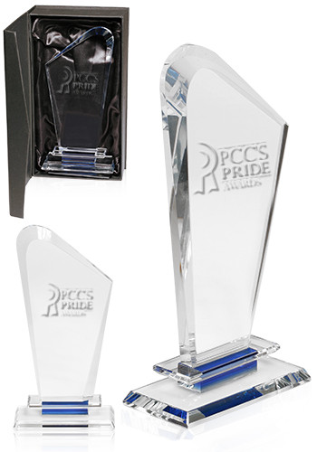 Curved Crystal Awards | DMAW06