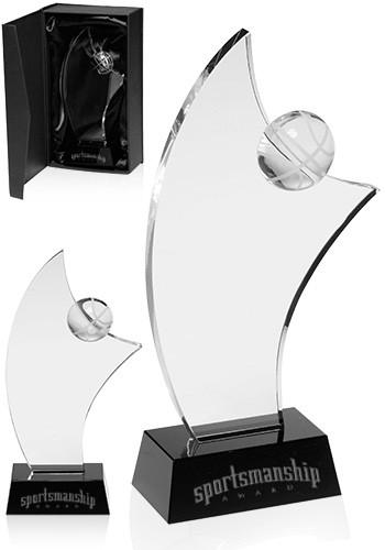 Custom Basketball Glass Awards