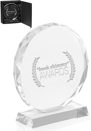 Customized Round Edge Crystal Glass Awards
