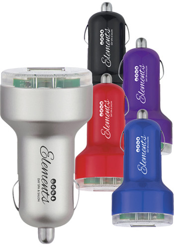 Personalized USB Car Chargers