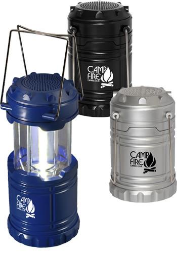 Duo Cob Lanterns Wireless Speakers
