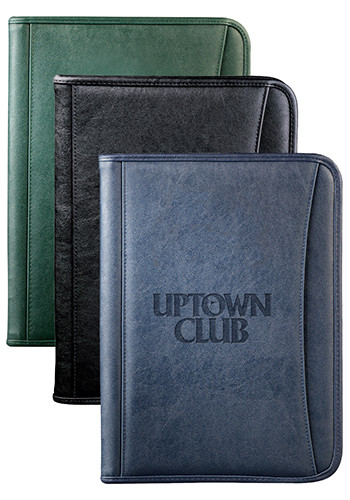 Customized DuraHyde Zippered Padfolios