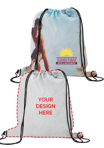 Dye-Sublimated Drawstring Backpacks | SUADSPS1