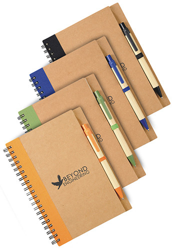 Customized Eco Spiral Notebooks
