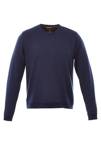 Elevate Men's Bromley Knit V-Neck Sweaters | LETM18614