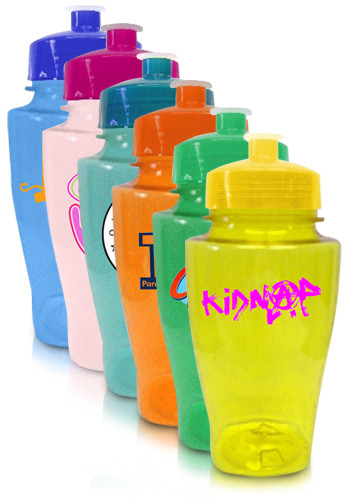 Promotional 16 oz. Plastic Water Bottles