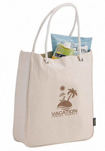 Essential Organic Cotton Carry-All Tote Bags | LE790105