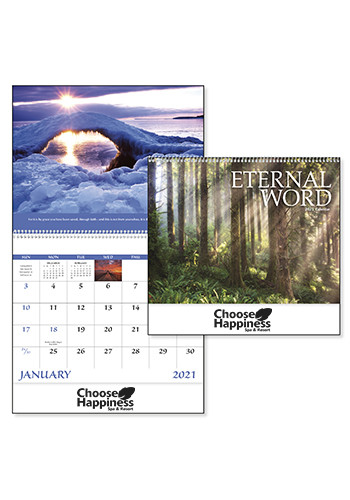 Eternal Word without Funeral Planner - Spiral Calendars | X30185