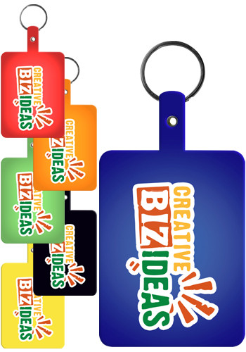 Large Rectangle Flexible Key Tags | EM528