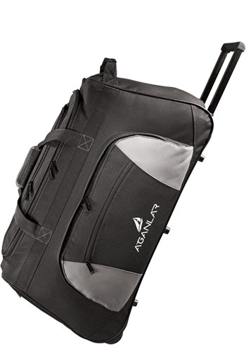 Personalized Excel 26 in. Wheeled Travel Duffle Bags